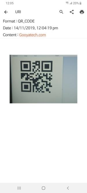 رمزگشایی محتوای کیو آر کد با نرم افزار QR BarCode