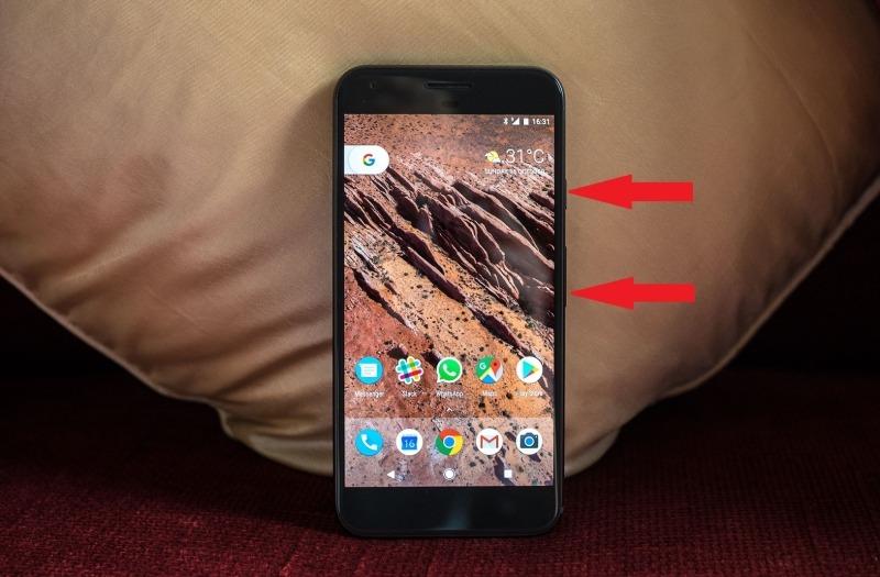 گرفتن اسکرین شات در گوشی های گوگل - Google: