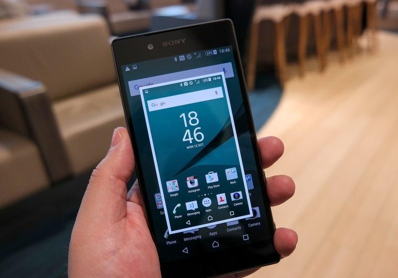گرفتن اسکرین شات در گوشیهای سونی - Sony: